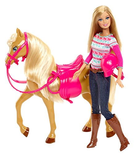 Barbie Tawny Horse Doll Set