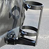 Metal Oxygen Cylinder Tank Holder O2H Accessory Bracket for Scooter or Powerchair