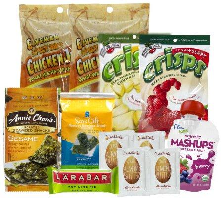 Paleo Caveman Diet Snack Box Starter 12 Pack