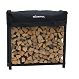 The Woodhaven 4 Foot Firewood Log Rack ~ The Woodhaven