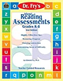 img - for Informal Reading Assessments by Dr. Fry (Dr. Fry's Informal Reading) by Dr. Ed Fry (2001-01-01) book / textbook / text book