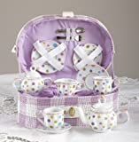 Large Dollies Tea Set/ Basket, Gumdrops