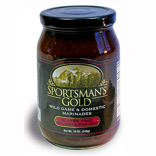 Sportsman'S Gold Gluten Free BBQ Sauce, Molasses Rum, 18 Ounce