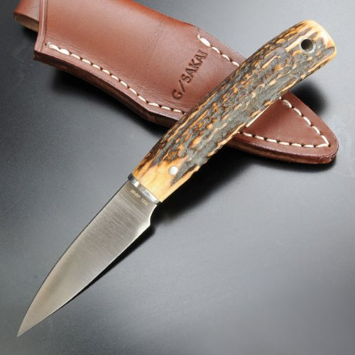 G.Sakai Knife Camp Stag Mini