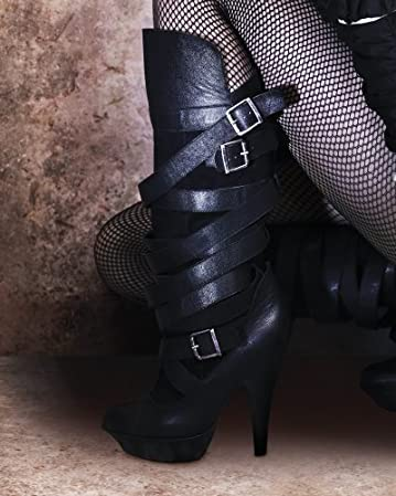 bebe Jenna Strappy Boot