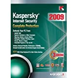Kaspersky Internet Security 2009, 3-Desktop, 1 year Subscription (PC)by Kaspersky Lab