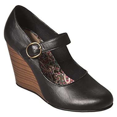 Product Image Women's Mossimo Supply Co. Sue Mary Jane Wedges - Black
