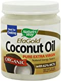 Natures Way EfaGold. Organic, Pure Extra Virgin Coconut Oil, 32-Ounce Jar