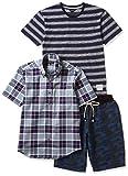 (カンサイヤマモトオム)KANSAI YAMAMOTO HOMME Tシャツ、半袖シャツ、ハーフパンツカジュアル3点セット 564-3P-B  マルチ LL