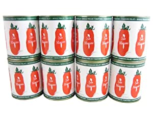 San Marzano Tomatoes, Whole (Case of 12 - 28oz Cans)