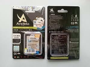 Batería duración extendida original ANDIDA sostituye BA600 1600mAh para Sony Xperia U ST25i, Xperia U ST25, Xperia U ST16, Kumquat