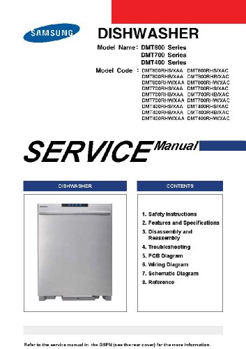 Samsung DMT400 SERIES Service Manual (Samsung Dmt400rhs compare prices)
