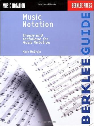 Music Notation (Berklee Guide) written by Mark McGrain