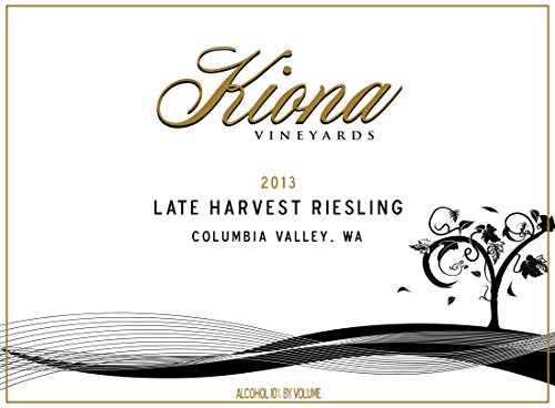 2013 Kiona Vineyards And Winery Late Harvest Riesling 750 Ml