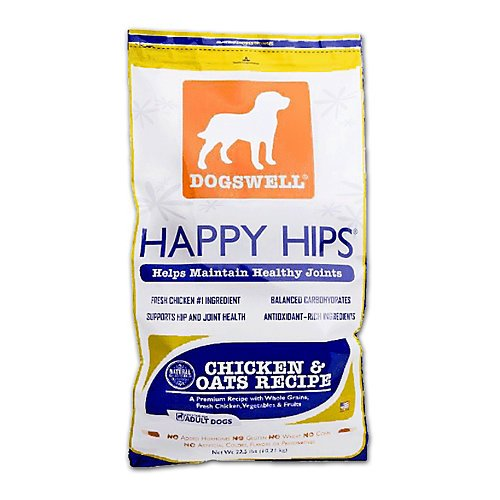 Dogswell Happy Hips Chicken & Oats 22.5 lb.