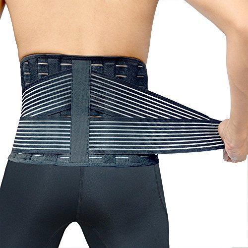 Vital Salveo- Germanium+Bamboo Charcoal Lower Back Support C-Fit (X-Large) (Positive And Negative Magnets compare prices)