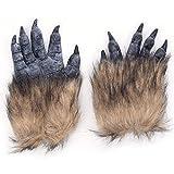 ハロウィン クリスマス カーニバル 怖い狼手袋 エマルション豪華な動物の手袋  バー小道具 恐怖狼グローブ ホラーウルフグローブ