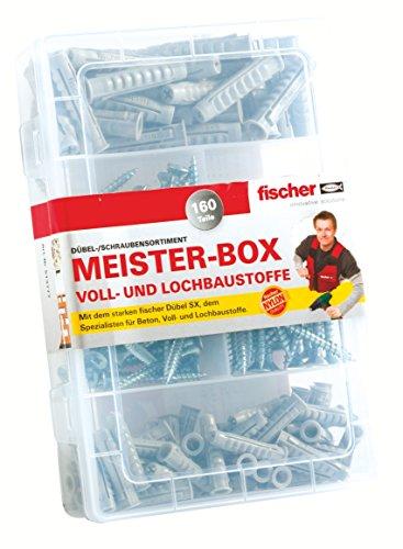 Fischer - Scatola Meister-Box Con Viti E Tasselli Sx