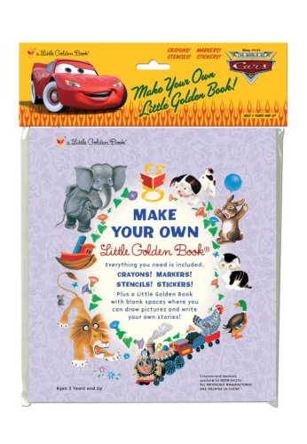 Cars (Disney/Pixar Cars) (Make Your Own Little Golden Book)