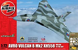 1 X Airfix A50097 1:72 Scale Military Air Power Avro Vulcan XH58 Vulcan to the Sky Gift Set with Paints, Glue and Brushes