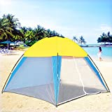Portable Beach Canopy Sun Shade Shelter Outdoor Camping Fishing Tent Mesh Screen