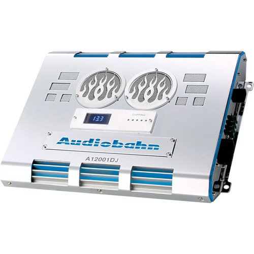 Audiobahn A12001DJ 1500W RMS Single-Channel Class D Monoblock Car Amplifier (Car Amps With Cooling Fans compare prices)