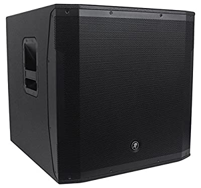 "Package: Mackie SRM1850 1600W 18"" Powered Subwoofer with Smart ProtectTM DSP + Mackie SRM1850 Cover -Protective Dust Cover & Travel Sleeve from Mackie"