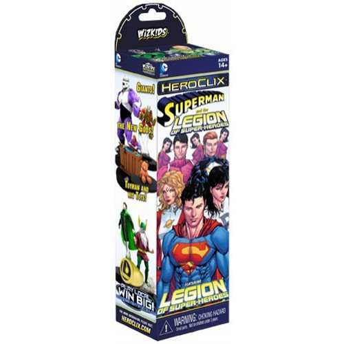 1 X Heroclix Legion of Superheroes Booster Pack