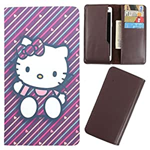 DooDa - For HTC One S PU Leather Designer Fashionable Fancy Case Cover Pouch With Card & Cash Slots & Smooth Inner Velvet