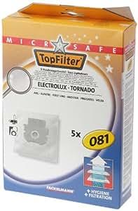 Top Filter 67081 Sac Aspirateur Microsafe en Non-Tissé pour Electrolux Progress Tornado