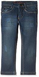 UFO Boys' Jeans (AW-16-DF-BKT-276_Indigo_14 - 15 years)