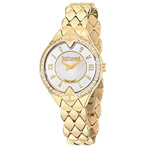 Just Cavalli R7253590502 Women's Sphinx Silver Dial Watch