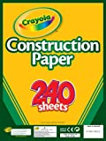 Crayola 240 Sheet Construction Paper