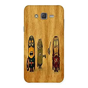 Ajay Enterprises Fit Heroes Friends Back Case Cover for Galaxy J7