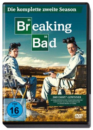 Breaking Bad - Die komplette zweite Season (Amaray) [4 DVDs]