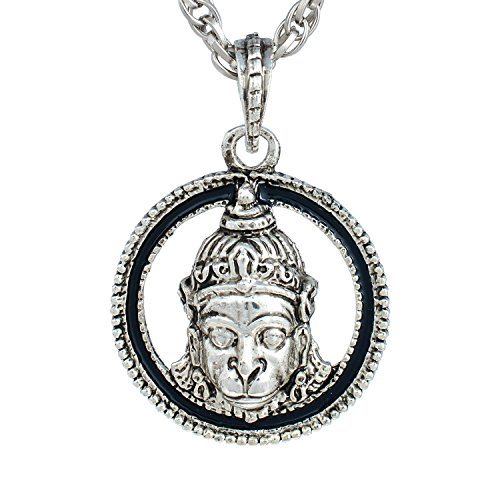 Memoir Antique look Lord Hanuman Bajrang Bali God pendant