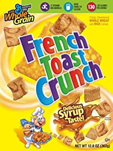 French Toast Crunch Cereal, 12.8-Ounce Box (Pack of 6)