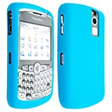 Light Blue High Quality Soft Silicone For Blackerry Curve 8300 8310 8320 8330 Case Cover