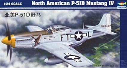 Maquette avion: P-51D Mustang IV North American