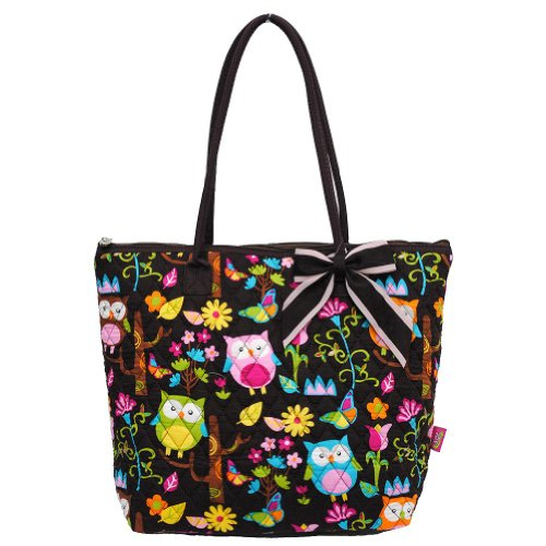 Owl Print Diaper Bag