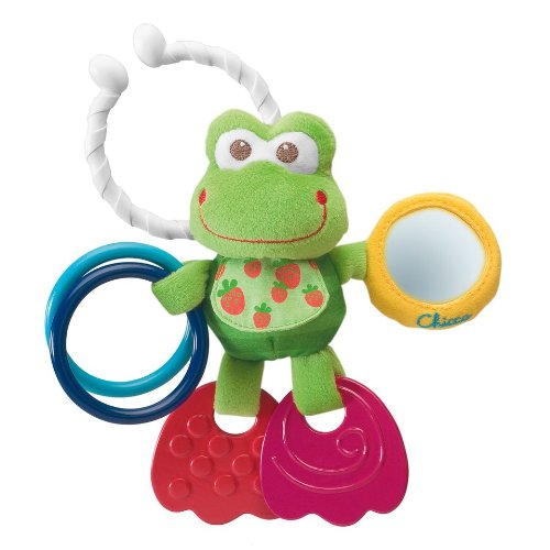 Chicco Fun Foot Froggie Rattle - 1