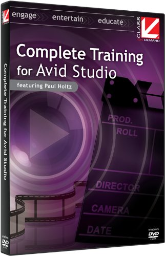 Class on Demand 2011: Complete Educational Training Tutorial DVD For Avid Studio Video Editing Software