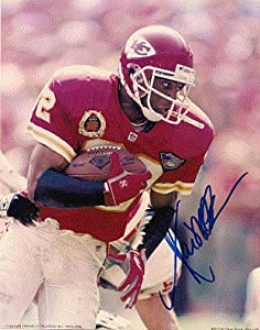 Autographed Hand Signed Marcus Allen Kansas City Chiefs 8x10 Photo by Hall of Fame Memorabilia