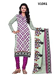 Expertiez Pure Cotton and Printed Unstitched Exclusive Dress materials