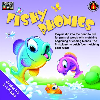 Edupress Ep-Lrn271 Fishy Phonics Beginning And Ending Blends front-1072981