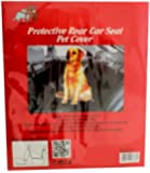 Protective Rear Car Seat Cover For Pets