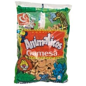 Amazon.com : Galletas Animalitos Cookies - 17.63oz [3 units] by Gamesa