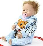 "20"" Lifelike Reborn Baby Doll Handmade Full Silicone Vinyl Real Touch Doll Newborn Baby Boy So Truely"