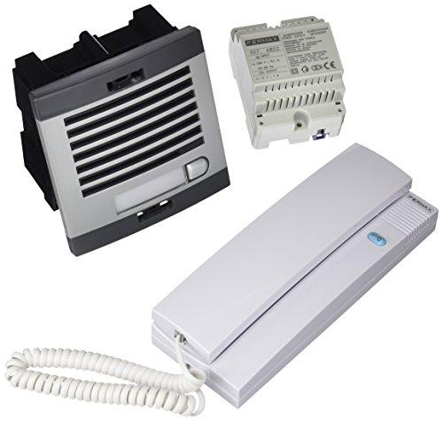 fermax-6201-kit-portero-automatico-1-linea-color-gris-y-negro