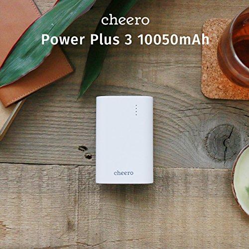 cheeroから手頃なサイズと大容量の「Power Plus 3 10,050mAh」が本日12時より発売